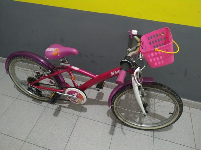 Bici Niña Impecable 20 Pulgadas