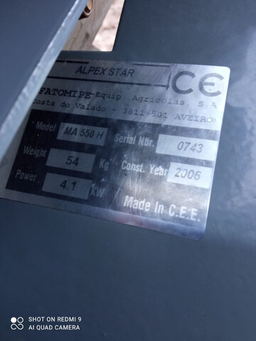 MOTOCULTOR ALPEX STAR MA 550H - foto 3
