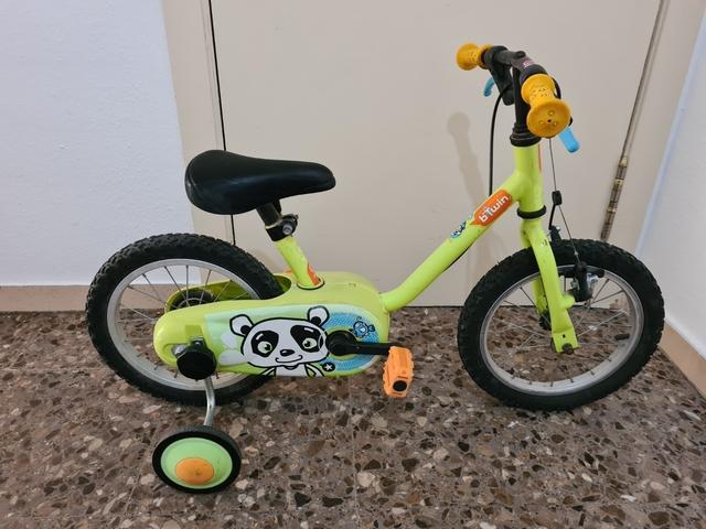 Bicicleta De Niño Con Ruedines 3 A 5 Año