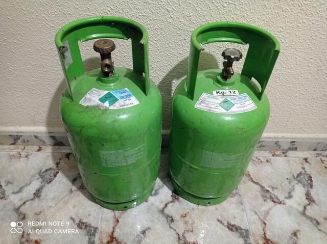 Bombonas Gas Fluorados 12Kg Vacias R134A