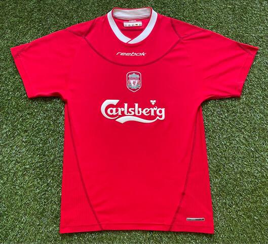 Liverpool 2002-2003 M Camiseta