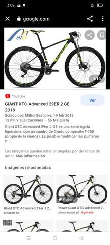 GIANT XTC 29 CARBONO - foto 4