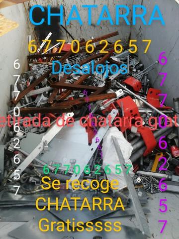 LIMPIEZA CHATARRA ESCOMBROS HIERROSSSSSS - foto 1