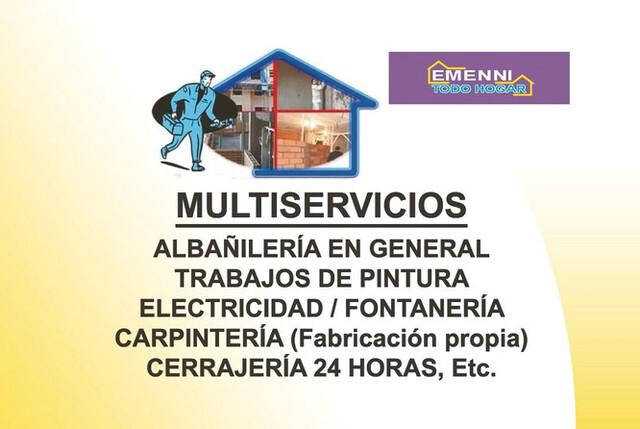 ALBAÑIL-PINTOR-FONTANERO-ELECTRICISTA - foto 1