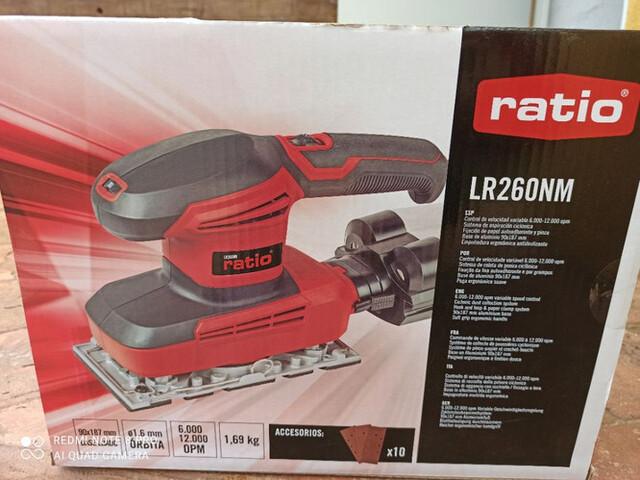 Lijadora Ratio Lr260Nm