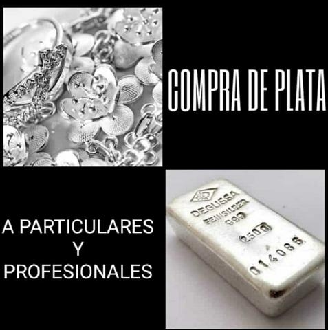 COMPRO PLATA Y ANTIGÜEDADES - foto 1