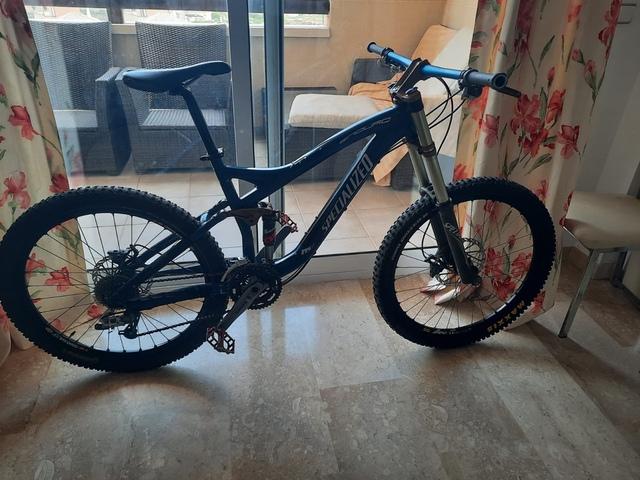 Bicicleta Doble Specialized Demo 5