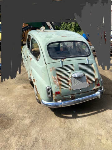 SEAT 600 D - MIRABRAGAS 600 - foto 1