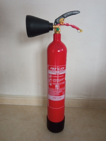Extintor Co2  2 Kilos