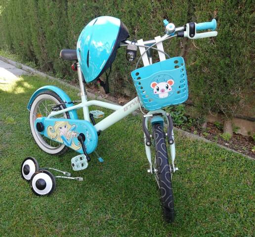 """Bicicleta De Niño/A De 16"""" Decathlon"""