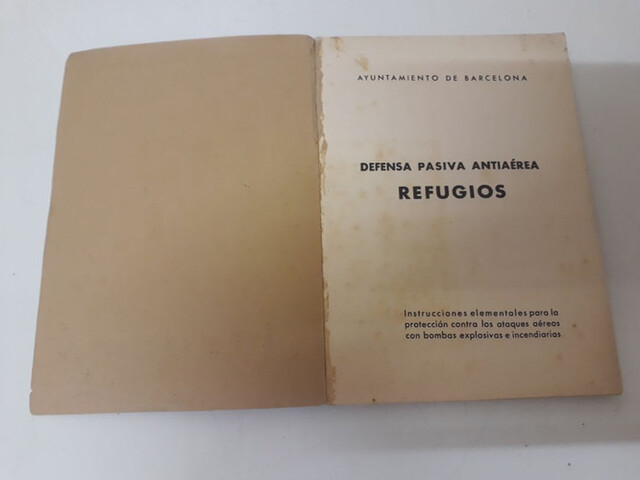 LIBRO REFUGIOS GUERRA CIVIL ESPAÑOLA - foto 2