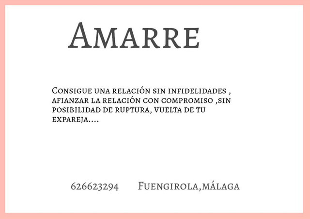 AMARRE.  - foto 1