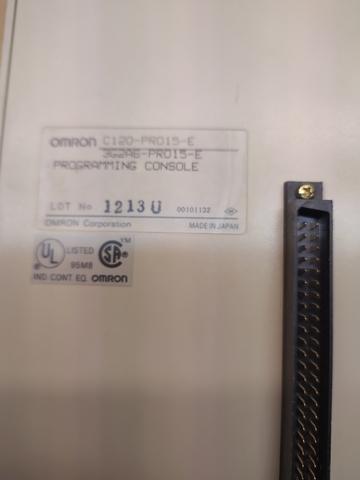 PLC OMRON C120 CONSOLA PROGRAMACIÓN - foto 2