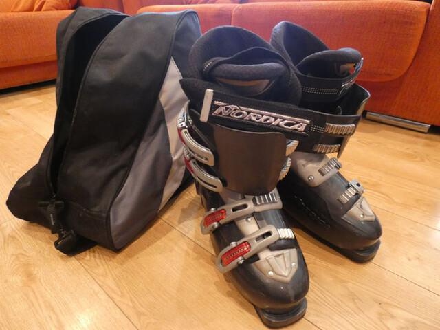 Botas Bota De Esqui Nordica+Bolsa Transp