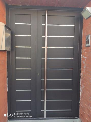 Puertas Aluminio Soldado De Cerramientos