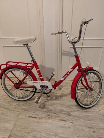 Bicicleta Plegable Clásica