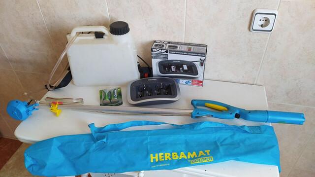 LANZA DE HERBICIDA - HERBAMAT MATABI 5L.  - foto 5