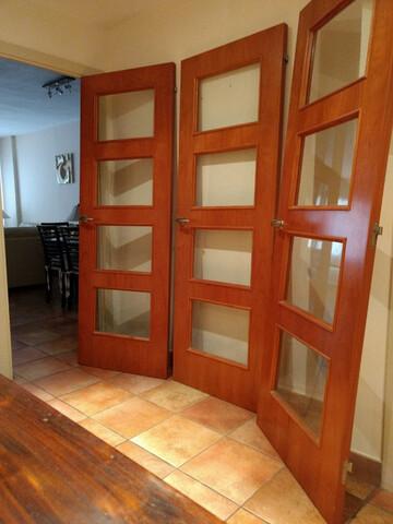 3 Puertas Elegante Vidriera Con Cristal