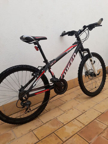 """Bicicleta 24"""" Montaña"""