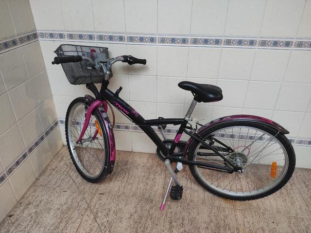 Bicicleta Como Nueva Ñiños 24 Pulgadas