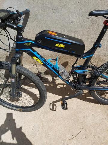 Bicicleta Ktm Doble Electrica
