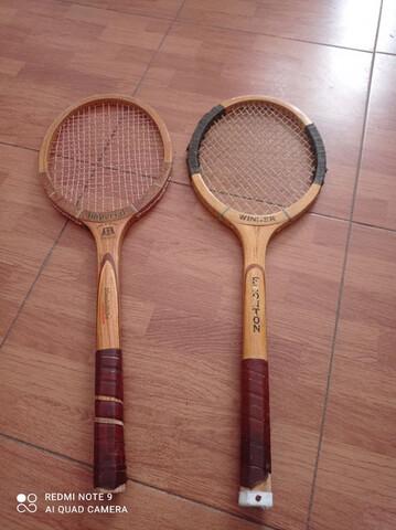Raquetas De Tenis.  Coleccionistas