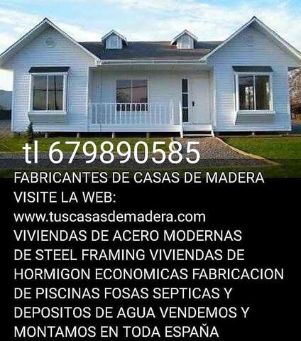 VENDEMOS PISCINAS CASAS PREFABRICADAS.  - foto 1