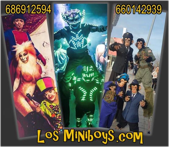 ANIMACIÓN FIESTAS MADRID ENANOS BOYS BOY - foto 3