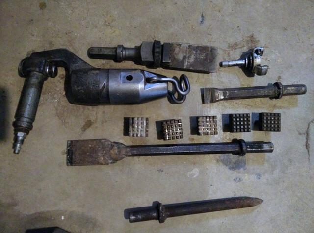 Martillo Neumático Cincelador Picador