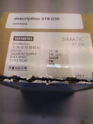 PLC SIEMENS S7-200 - foto 4