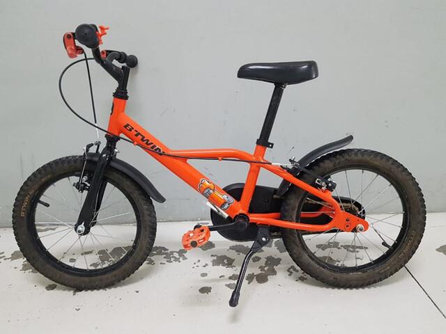 Bicicleta De Niño 16 Pulgadas 4/6 Años