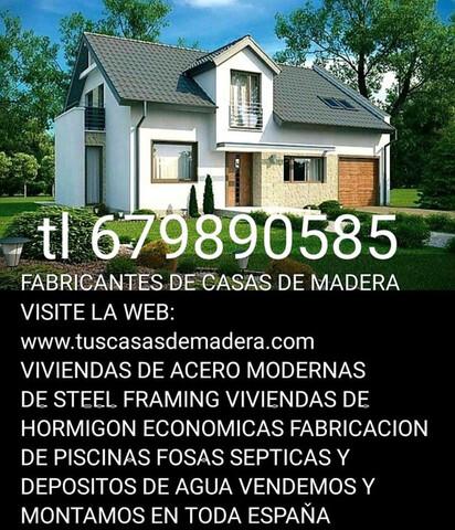 PISCINAS DE FIBRA-CASAS DE MADERA - foto 7