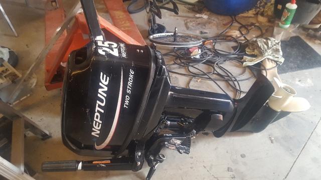MOTOR 25CV 2T - foto 1