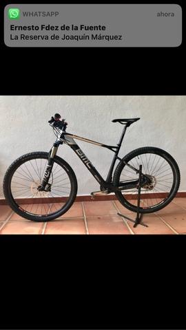 """Vendo Bicicleta Mtb 29"""" Bmc Team Elite02"""