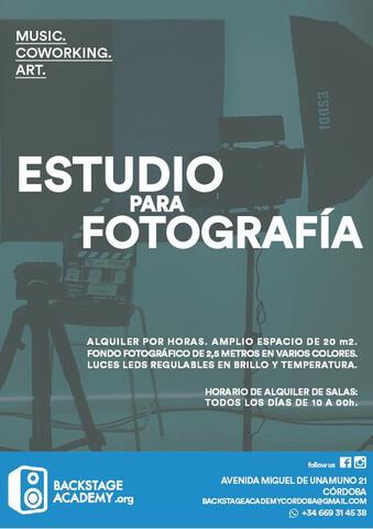 ALQUILER DE ESTUDIO PARA FOTOGRAFÍA - foto 2