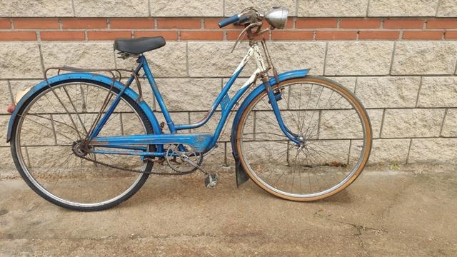 Antigua Bicicleta Bh De Varillas