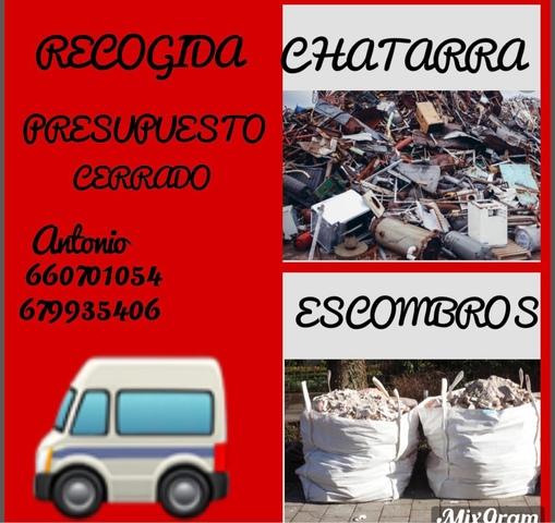 RECOGIDAS DE ESCOMBROS Y CHATARRA - foto 1