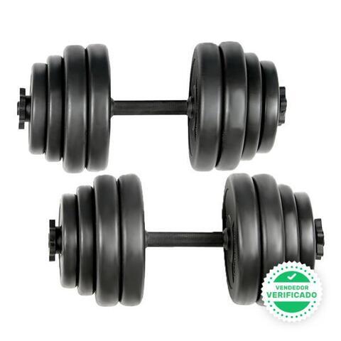 Dos Mancuernas Musculación 30 Kg Peso