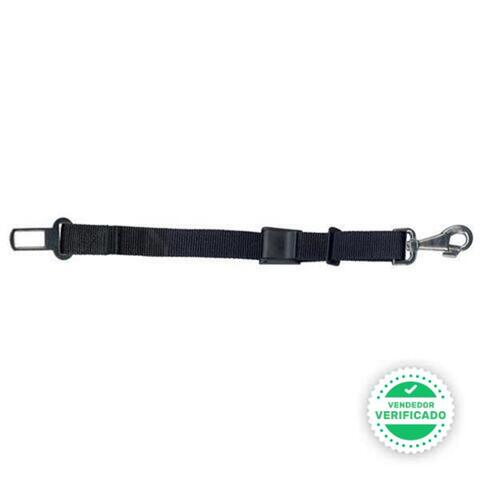 Cinturón De Nylon Corto Con Enganche Y M