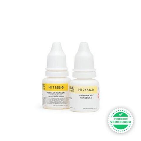 Reactivo Amoníaco Rango Medio (0 A 9, 99