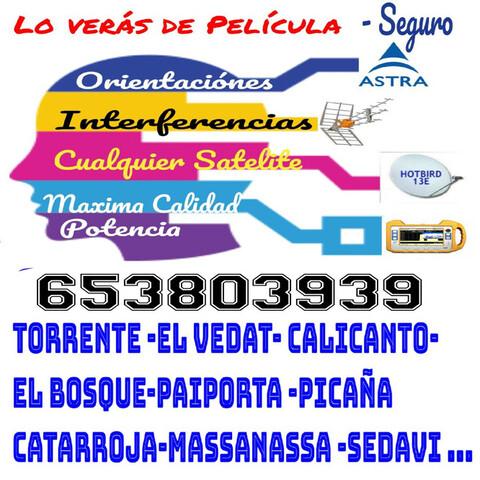 Antenas Torrente Antenistas Torrente 24H