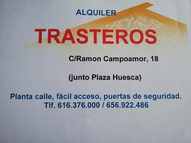 ALQUILER TRASTEROS - foto 1