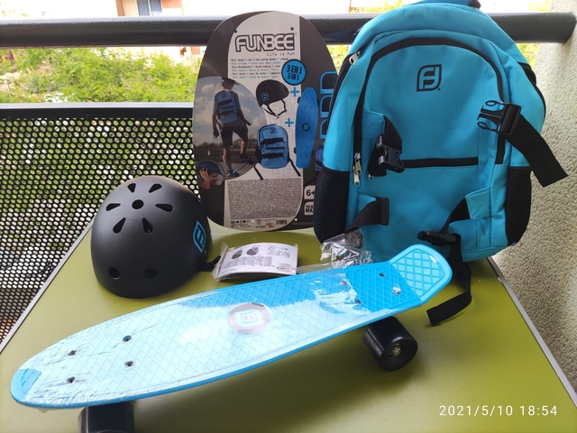 Skate + Mochila Skate + Casco Nuevo!!!!