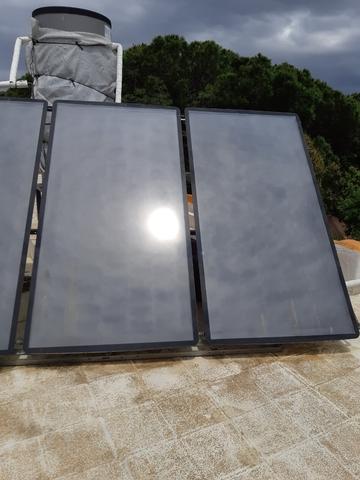 Placas.  Solares. Para Calentar Agua