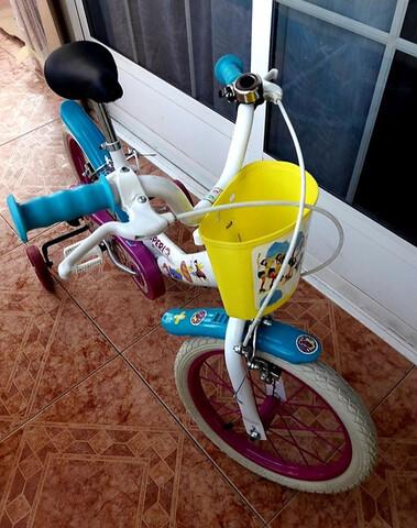 * * * * Bicicleta De Niña De 16 Pulgadas * * *