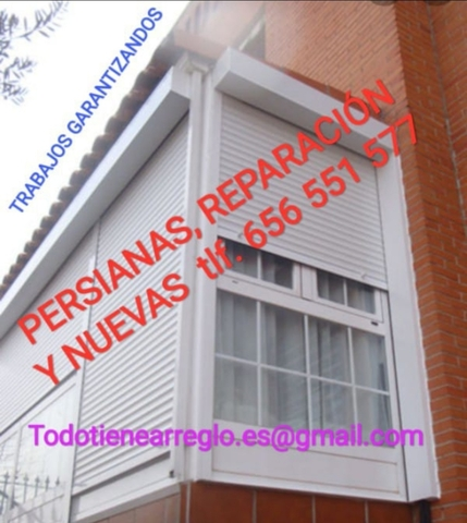 PERSIANAS,  CARPINTERÍA DE PVC,  REPARACIO - foto 5