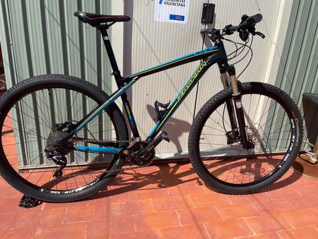 Bicicleta De Montaña Carbón