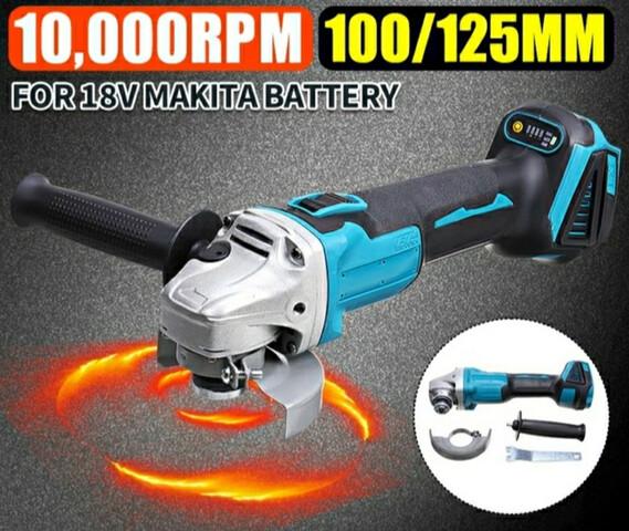 Amoladora A Bateria De 10000Rpm.  4 Veloc