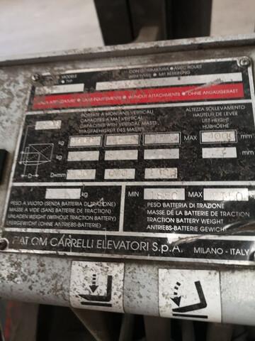 CARRETLLA FIAT ELECTRICA 4000KG - foto 4