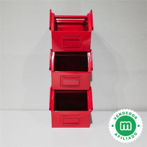 Caja De Chapa De Acero De 20X30Cm 3Uds